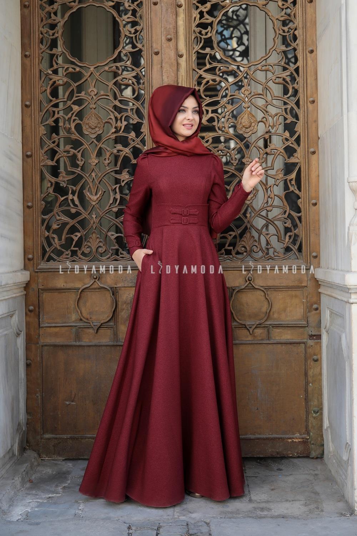 80a1816ba073b Elbise - Lidya Moda Tesettür Giyim