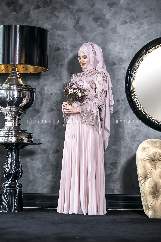 2de209156389f An-Nahar - Işıl Abiye - 530,00 TL - Lidya Moda Tesettür Giyim
