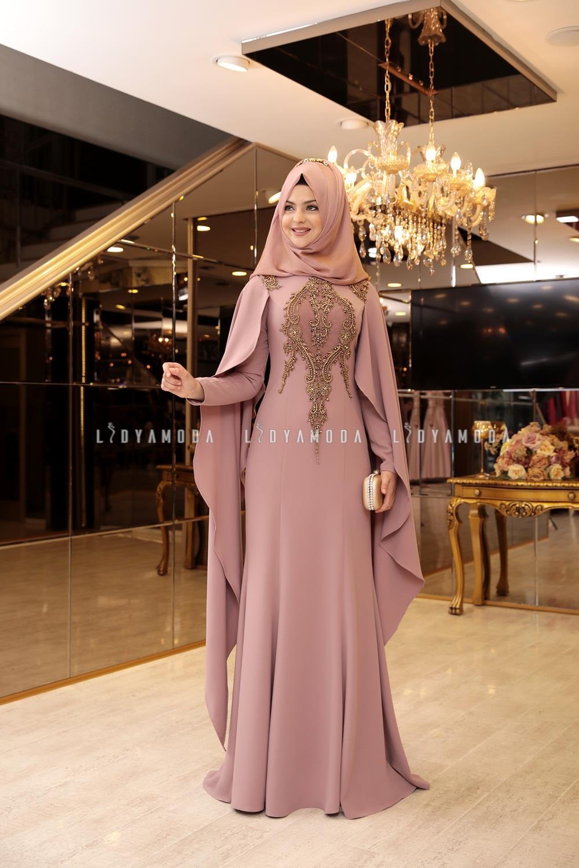 63f2c40520a58 Pınar Şems - Piraye Abiye - 645,00 TL - Lidya Moda Tesettür Giyim